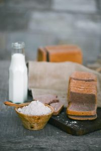 Ragi Bread; a healthier alternative to white bread. Made with Ragi flour from Think Organic.