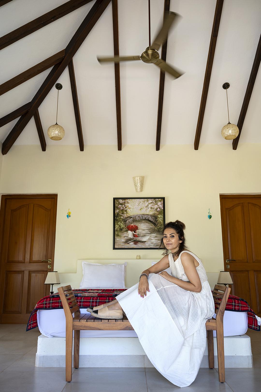 The master bedroom at Casa De Amor