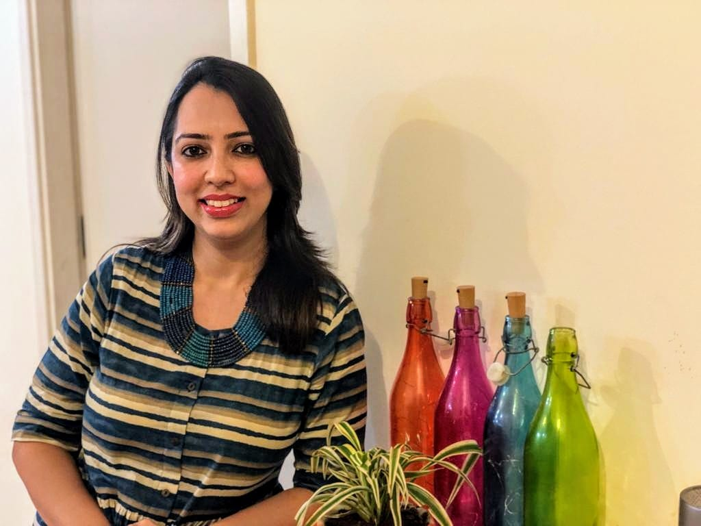 A food journalist and author, Forum Chhaya Pathak